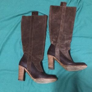 Frye High Heel Pull on Boots